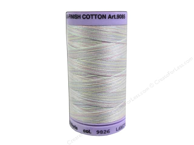 Mettler Silk Finish Cotton Thread 50 wt. 500 yd. #9826 Baby Blanket