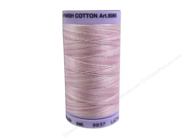Mettler Silk Finish Cotton Thread 50 wt. 500 yd. #9837 So Soft Pink