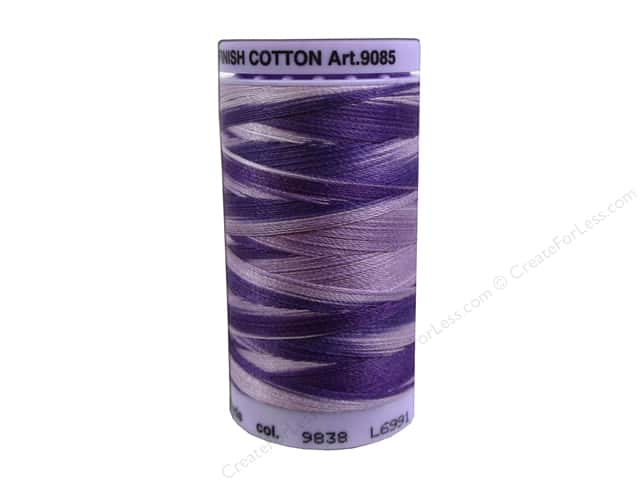 Mettler Silk Finish Cotton Thread 50 wt. 500 yd. #9838 Lilac Bouquet