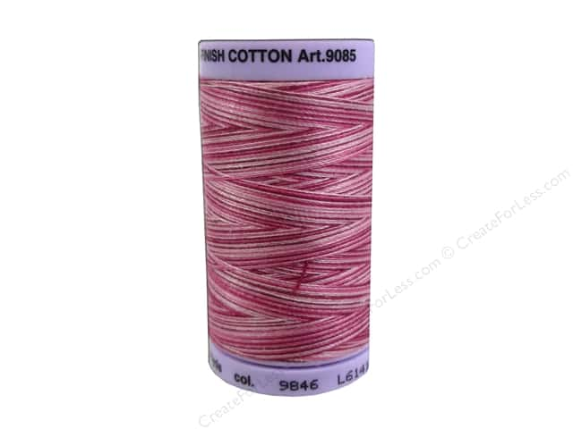 Mettler Silk Finish Cotton Thread 50 wt. 500 yd. #9846 Cranberry