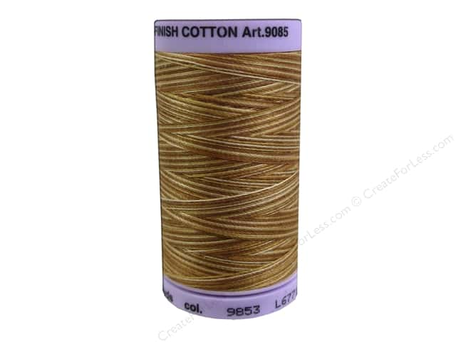 Mettler Silk Finish Cotton Thread 50 wt. 500 yd. #9853 Iced Coffee
