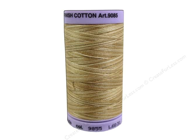 Mettler Silk Finish Cotton Thread 50 wt. 500 yd. #9855 Bleached Straw