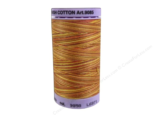Mettler Silk Finish Cotton Thread 50 wt. 500 yd. #9858 Falling Leaves