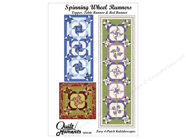 Quilt Moments Spinning Wheel Runners Pattern