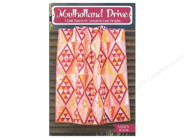 Sassafras Lane Designs Mulholland Drive Pattern