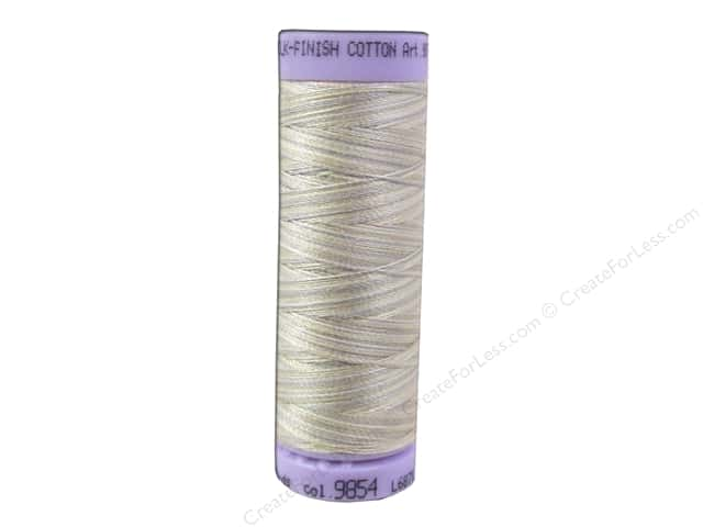 Mettler Silk Finish Cotton Thread 50 wt. 109 yd. #9854 Pearl Tones