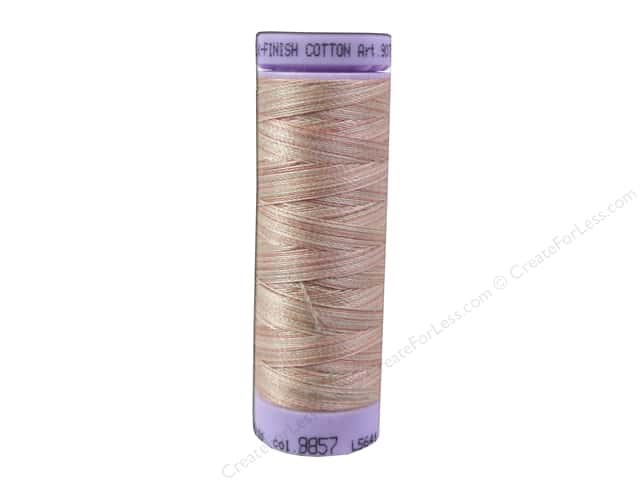 Mettler Silk Finish Cotton Thread 50 wt. 109 yd. #9857 Coral Sands