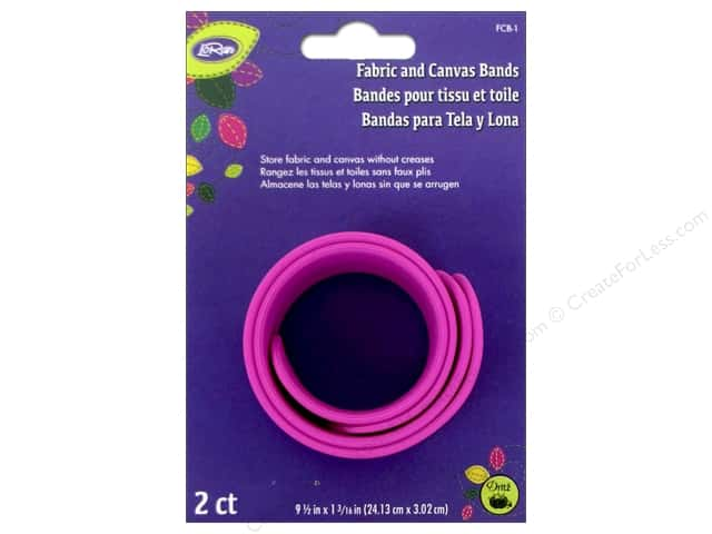 LoRan/Dritz Notions Fabric & Canvas Bands 2pc