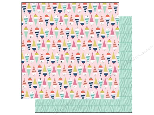 Echo Park 12 x 12 in. Paper Anything Goes Collection Double Scoop (25 sheets)