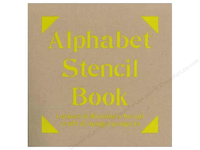 Batsford Alphabet Stencil Book
