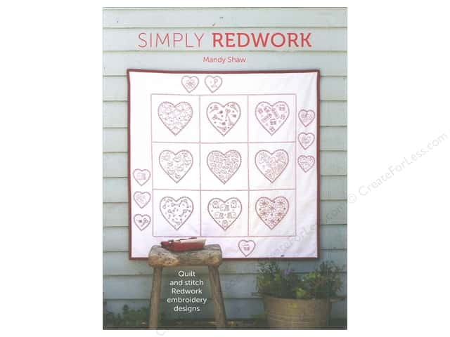 David & Charles Simply Redwork Book