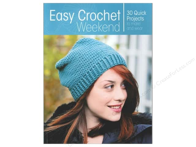 Krause Publications Easy Crochet Weekend Book