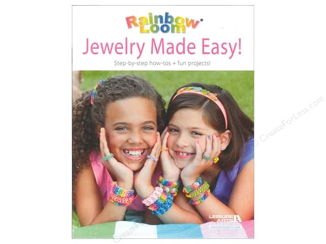 Leisure Arts Rainbow Loom Jewelry Made Easy! Book-