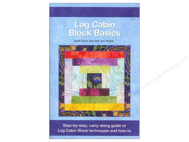 Landauer Log Cabin Block Basics Book