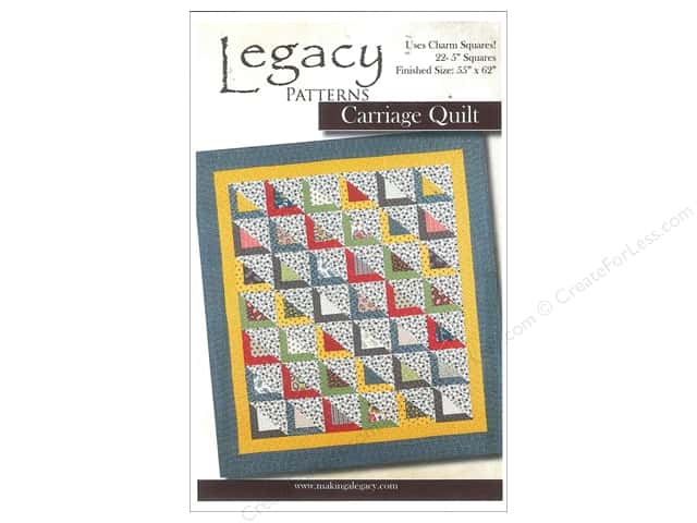 Legacy Patterns - Carriage Quilt