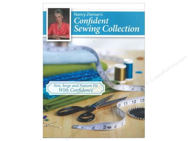 Krause Publications Nancy Zieman's Confident Sewing Collection Book