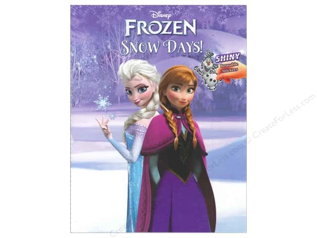 Golden Disney Frozen Snow Days! Book