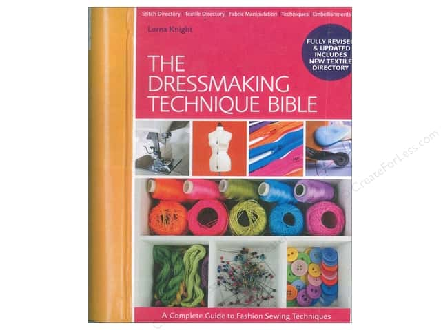 David & Charles The Dressmaking Technique Bible Book