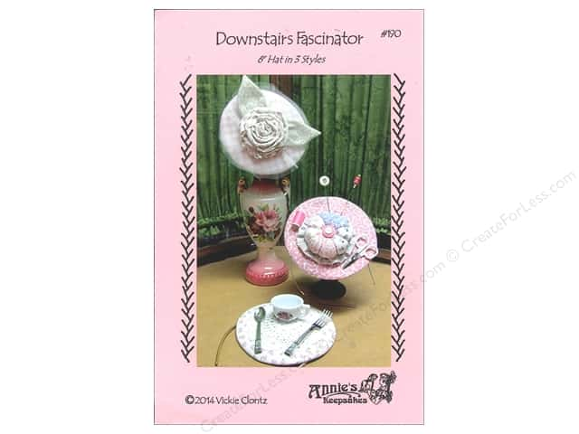 Annie's Keepsakes Downstairs Fascinator Pattern