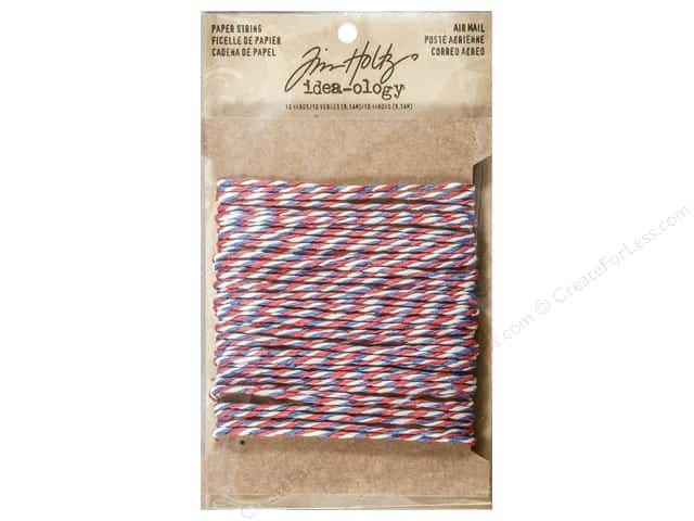 Tim Holtz Idea-ology Paper String Air Mail