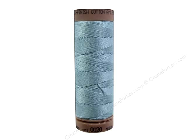 Mettler Silk Finish Cotton Thread 40 wt. 164 yd. #0020 Rough Sea