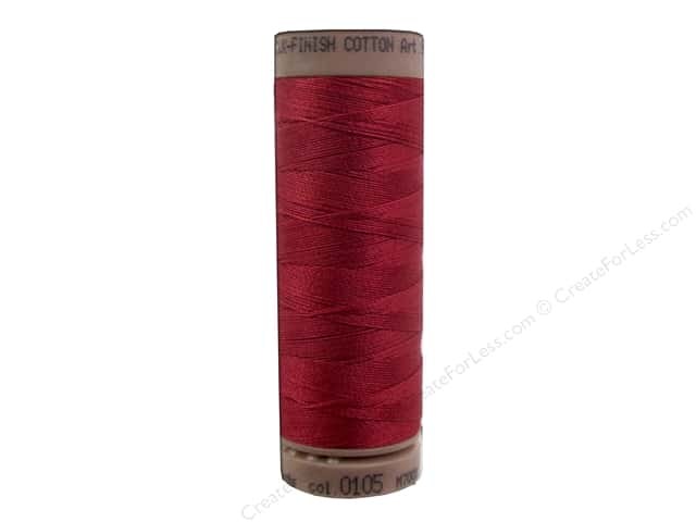 Mettler Silk Finish Cotton Thread 40 wt. 164 yd. #0105 Fire Engine