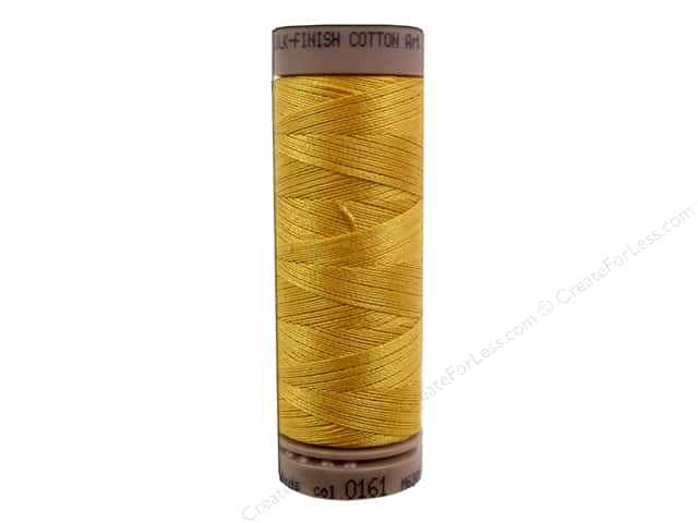 Mettler Silk Finish Cotton Thread 40 wt. 164 yd. #0161 Marigold