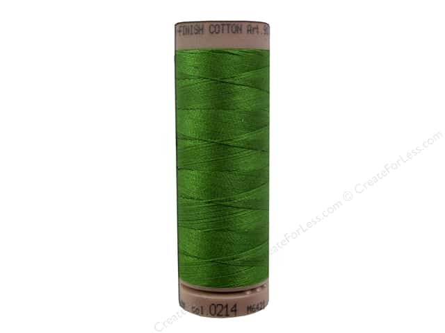 Mettler Silk Finish Cotton Thread 40 wt. 164 yd. #0214 Treetop