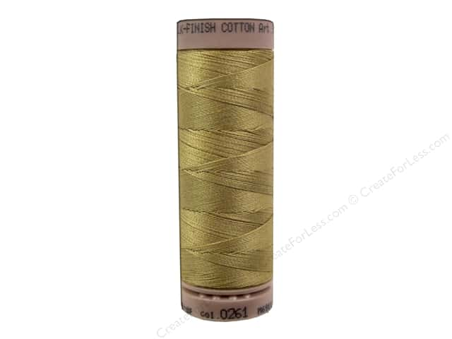 Mettler Silk Finish Cotton Thread 40 wt. 164 yd. #0261 Sisal