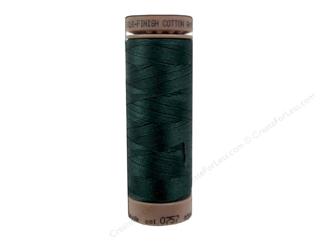 Mettler Silk Finish Cotton Thread 40 wt. 164 yd. #0757 Swamp