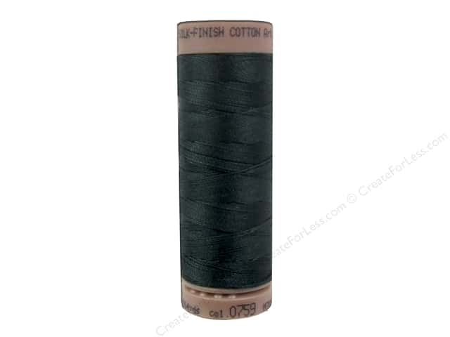 Mettler Silk Finish Cotton Thread 40 wt. 164 yd. #0759 Spruce Forest