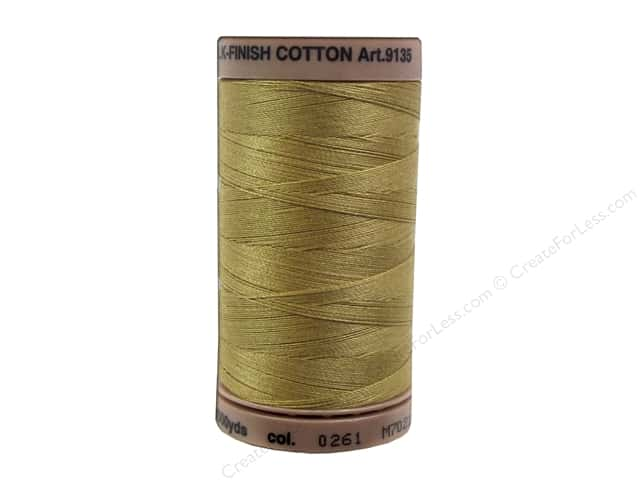 Mettler Silk Finish Cotton Thread 40 wt. 500 yd. #0261 Sisal