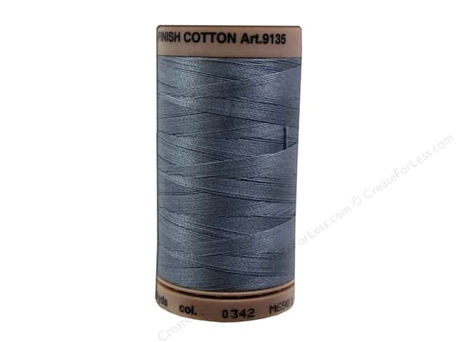 Mettler Silk Finish Cotton Thread 40 wt. 500 yd. #0342 Flint Stone