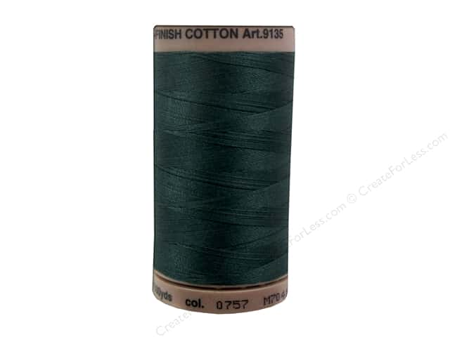 Mettler Silk Finish Cotton Thread 40 wt. 500 yd. #0757 Swamp
