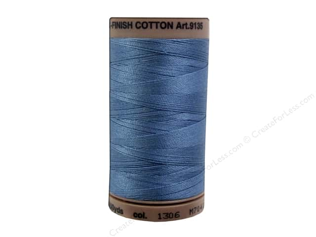 Mettler Silk Finish Cotton Thread 40 wt. 500 yd. #1306 Laguna