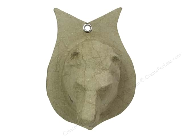 PA Paper Mache Wall Decor Lion Head