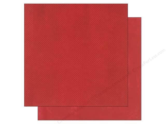 Bo Bunny 12 x 12 in. Paper Double Dot Wild Berry (25 sheets)