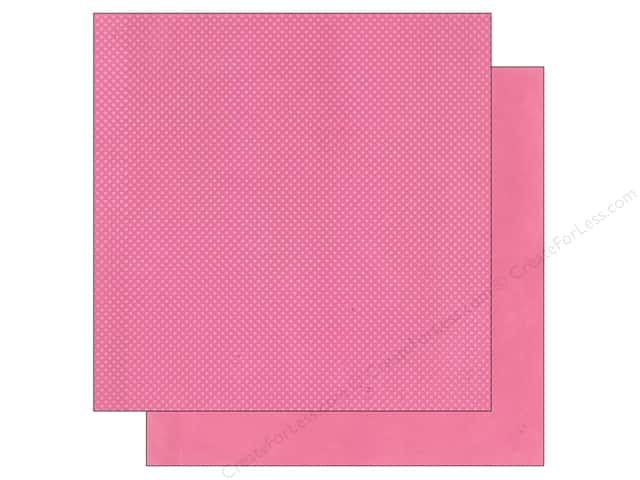 Bo Bunny 12 x 12 in. Paper Double Dot Collection Blush