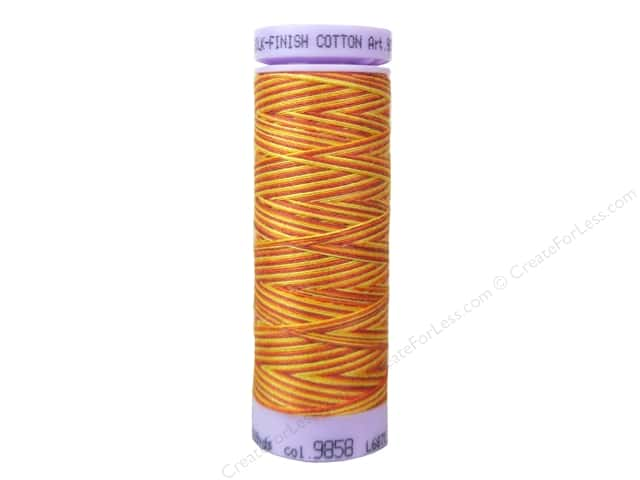 Mettler Silk Finish Cotton Thread 50 wt. 109 yd. #9858 Falling Leaves