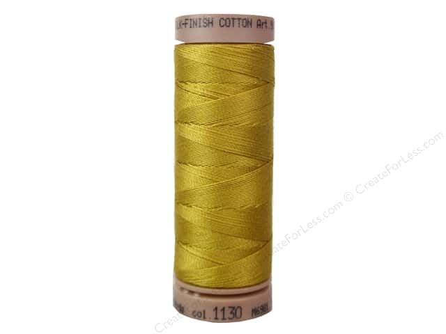 Mettler Silk Finish Cotton Thread 40 wt. 164 yd. #1130 Palomino