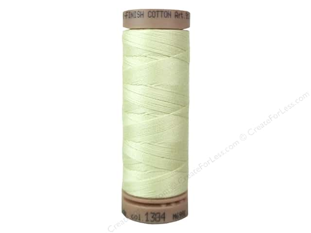 Mettler Silk Finish Cotton Thread 40 wt. 164 yd. #1384 Lime Blossom
