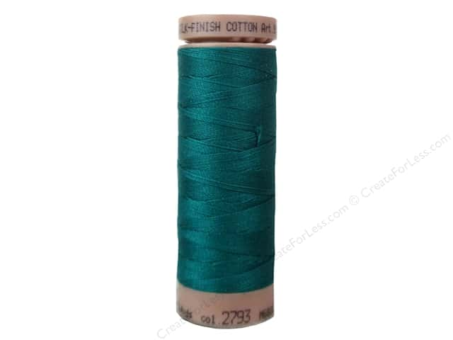 Mettler Silk Finish Cotton Thread 40 wt. 164 yd. #2793 Tidepool