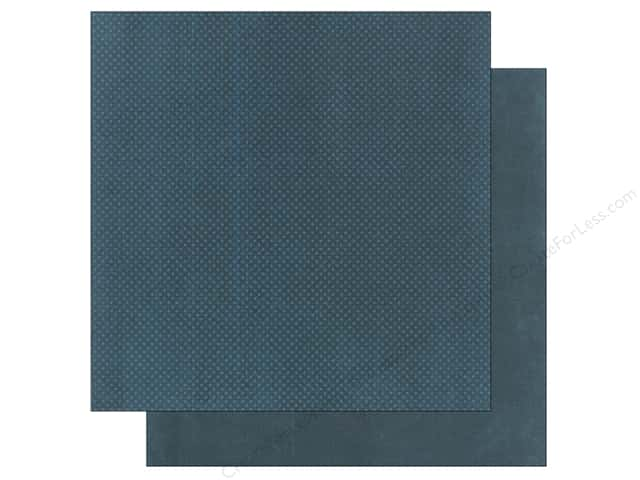 Bo Bunny 12 x 12 in. Paper Double Dot Collection Slate (25 sheets)