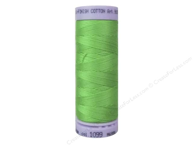 Mettler Silk Finish Cotton Thread 50 wt. 164 yd. #1099 Light Kelly