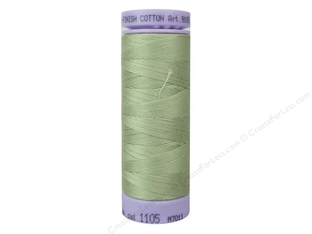 Mettler Silk Finish Cotton Thread 50 wt. 164 yd. #1105 Lint