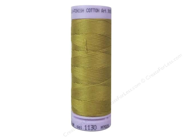 Mettler Silk Finish Cotton Thread 50 wt. 164 yd. #1130 Palomino