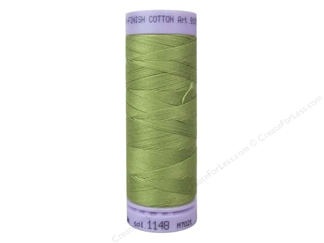 Mettler Silk Finish Cotton Thread 50 wt. 164 yd. #1148 Seaweed