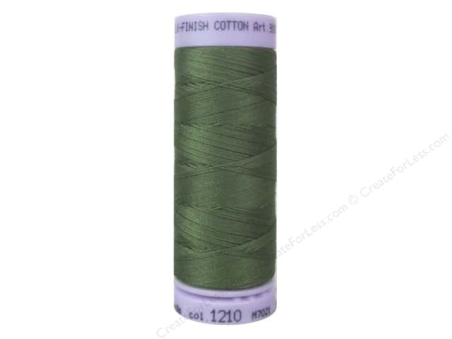 Mettler Silk Finish Cotton Thread 50 wt. 164 yd. #1210 Seagrass