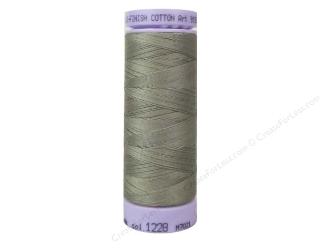Mettler Silk Finish Cotton Thread 50 wt. 164 yd. #1228 Khaki