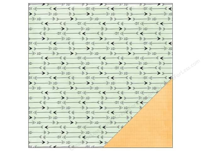 American Crafts 12 x 12 in. Paper Amy Tangerine Rise & Shine Amelia (25 sheets)